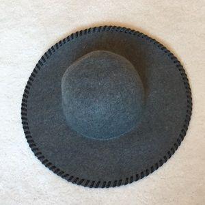 "Nordstrom Phase 3 Wool ""Whipstitch"" Floppy Hat"